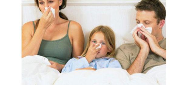 Infectii acute de cai respiratorii superioare si pneumonii in Maramures